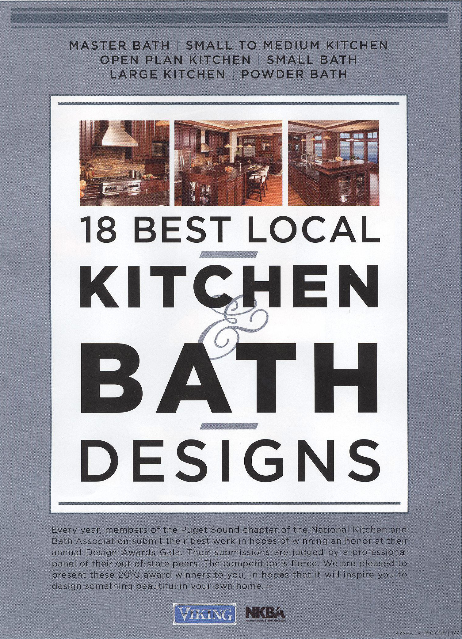 425 Magazine  Resources   Vision Woodworks. National Kitchen And Bath Cabinetry. Home Design Ideas