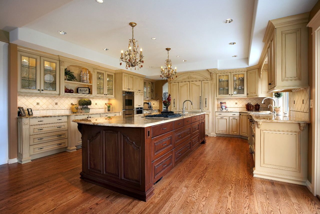 lovely Kitchen Island Different Color #4: custom kitchen islands - vision woodworks - february 2012